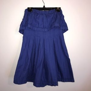 Free People Royal blue romper